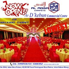 MAKE EVERY EVENT A RED CARPET EVENT IN MALAYSIA WITH OUR VIP WALKWAY C