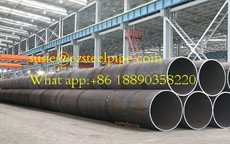 LSAW Steel Pipe for Liquid Transportation or Piling work