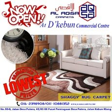 CARPET FACTORY IN MALAYSIA / SHAGGY RUG SPECIAL CARPET FROM RM 90 ONLY