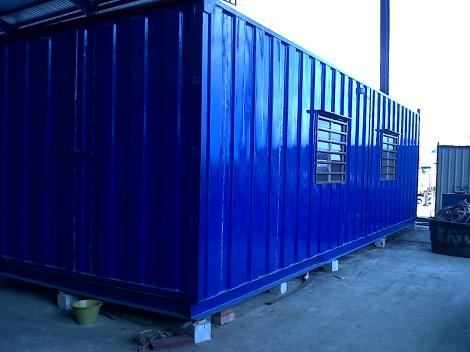 Perak Cabin and Container with Transport Arrangeable