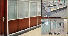 OFFICE PARTITION AND CARPETs