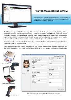 VISITOR MANAGEMENT SYSTEM / SOFTWARE