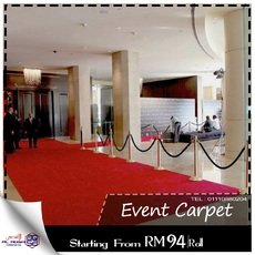 WALKWAY EVENT KARPET MALAYSIA – KARPET ACARA MERAH VIP – VIP WALKWAY C