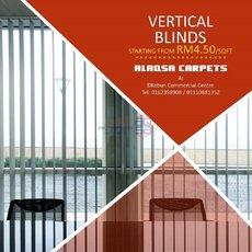 ALAQSA CARPETS VERTICAL BLINDS WHOLESALE PRICE