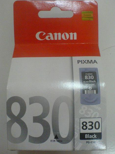 Canon PG 830 Black Ink Cartriges