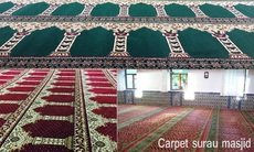 SPECIALIST FOR SUPPLY AND INSTALL MOSQUE CARPETS