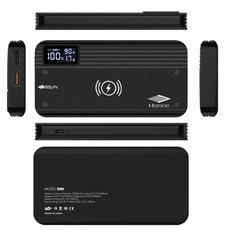 Mezone Slim Designe QW8 Qi wireless Power Bank 2 USB port 10000mAh