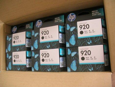 HP 920 Black Ink Cartridges