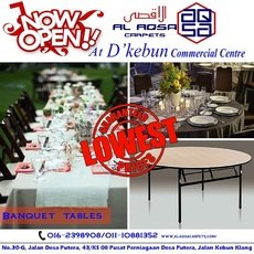 ROUND BANQUET TABLE SUPPLIER ONLY RM200