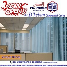 VERTICAL BLINDS FOR WINDOWS RM 4.50/SQFT