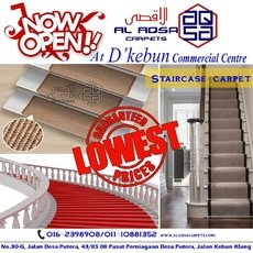 CARPET FOR STAIRCASE / DIFFERENT WAYS TO CARPET STAIRS MALAYSIA