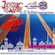 MOSQUE AND SURAU CARPET SUPPLIER START FROM RM3.18/sqft