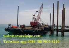 API 5L /ASTM A252 steel pipe tubular steel piles