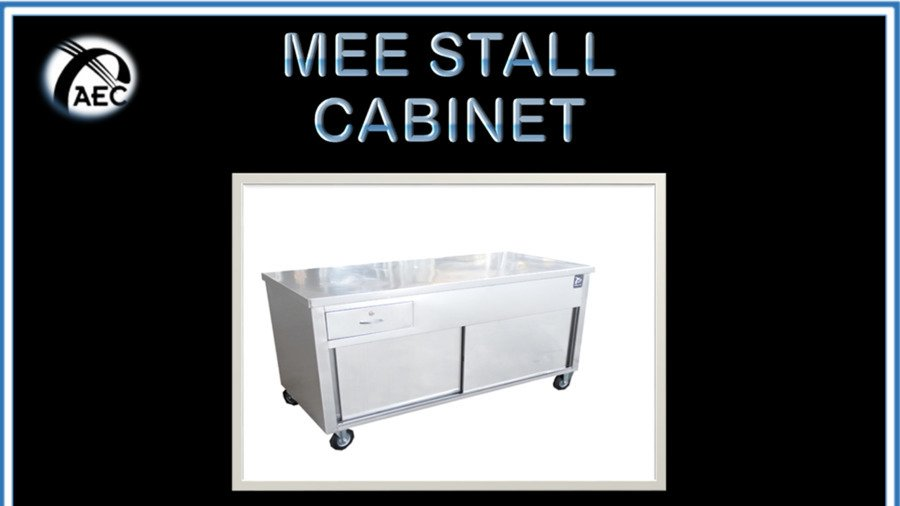 Mee Stall Stainless Steel