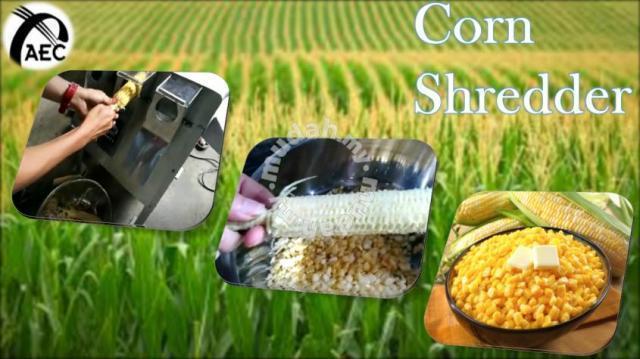 Self Manufactured Machine-Sweet Corn Shredder