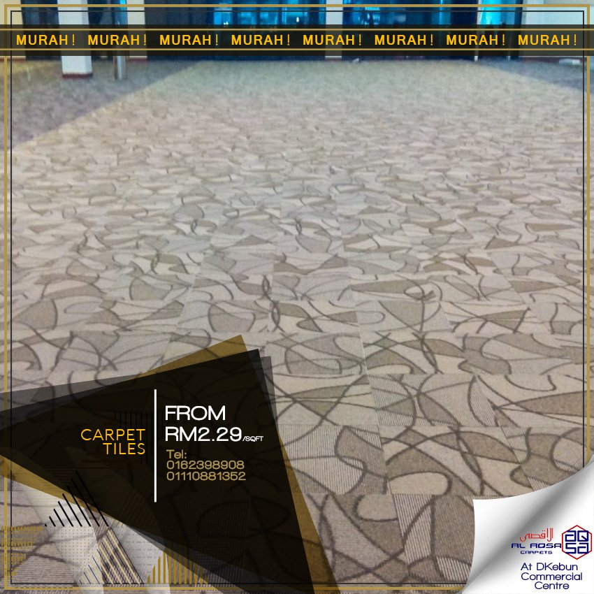 CARPET TILES /FLOORING TILES AT WHOLE SALE PRICES FROM ALAQSA CARPETS