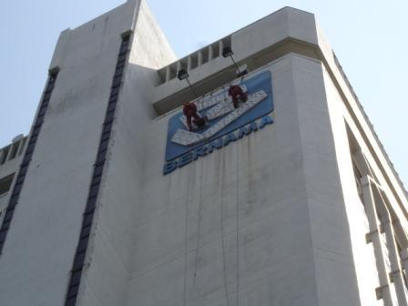 HIGH-RISE CLEANING SERVICE