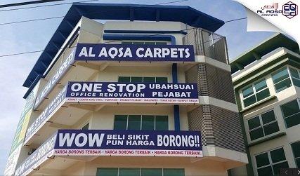CHEAPEST CARPET IN MALAYSIA - NEW AL AQSA CARPETS AT D'KEBUN