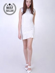 EFFIE CONTEMPORARY LACE DRESS