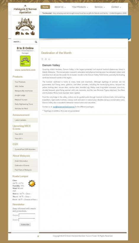 overland services online