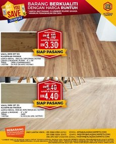 WOOD VINYL RT53 & ST21 WITH GREAT WE SAVE YOU SAVE PROMOTION!