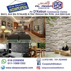 KOREAN WALLPAPER SPECIAL OFFER FROM RM 250/ROLL – 3D DESIGNS!! PRICE