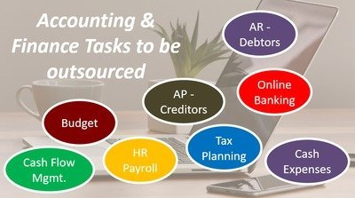 Accounting & Finance tasks that can be outsourced