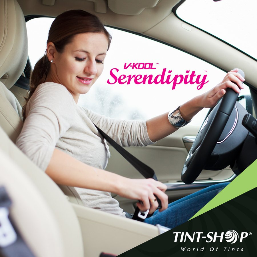 Tint-Shop's V-KOOL SERENDIPITY For the Safety of Your Car