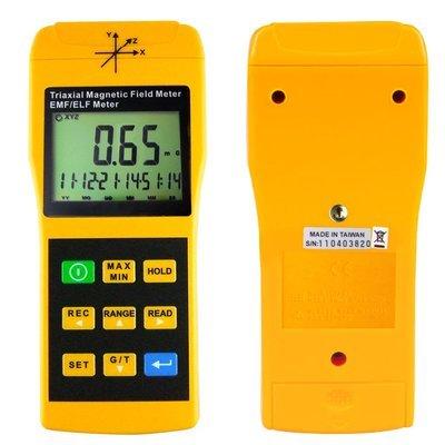 TENMARS Triaxial Magnetic Field Meter EMF ELF Tester