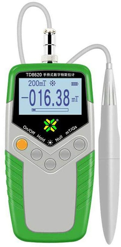 Digital Gauss Meter Handheld