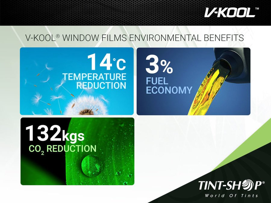 Improve Your Car Fuel Efficiency with V-KOOL® Window Film