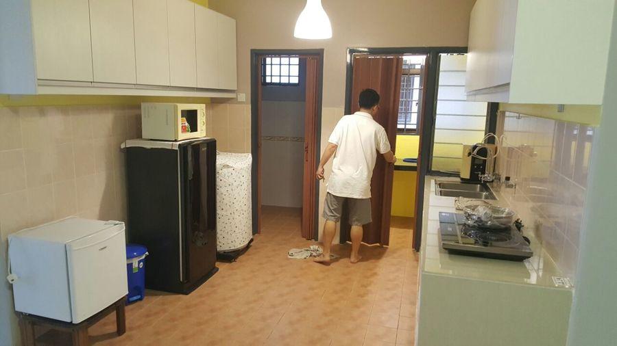 Renovated Bougainvilla condominium, Segambut