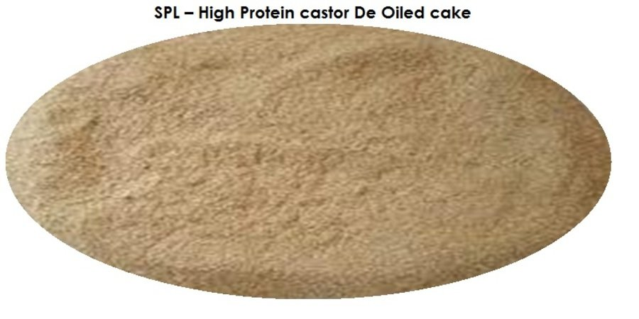 High Protein Castor De Oiled Cake
