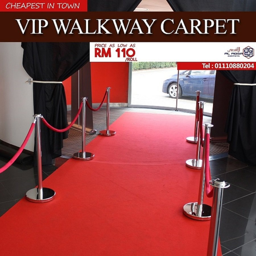VIP WALKWAY CARPETS VIP RED CARPETS MAKE EVERY EVENT A RED CARPET