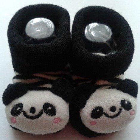 3D Baby Socks: Baby Panda