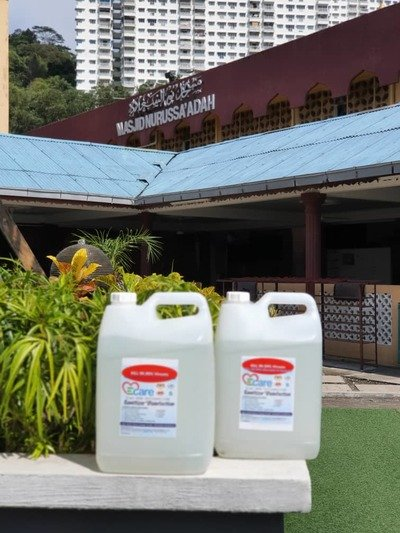 Ecare Sanitizer + Disinfection + Contamination