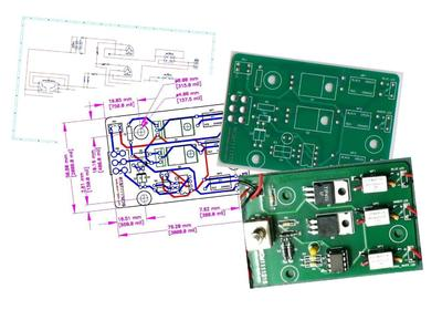 Customized PCB (Bare Board) including design layout.