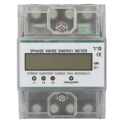 220/380V 5-80A Energy Consumption Digital