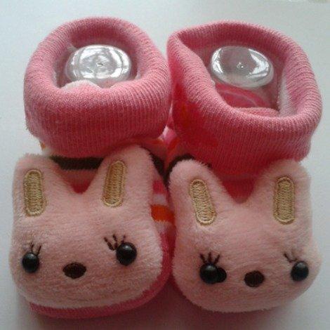 3D Baby Socks: Cute Rabbit